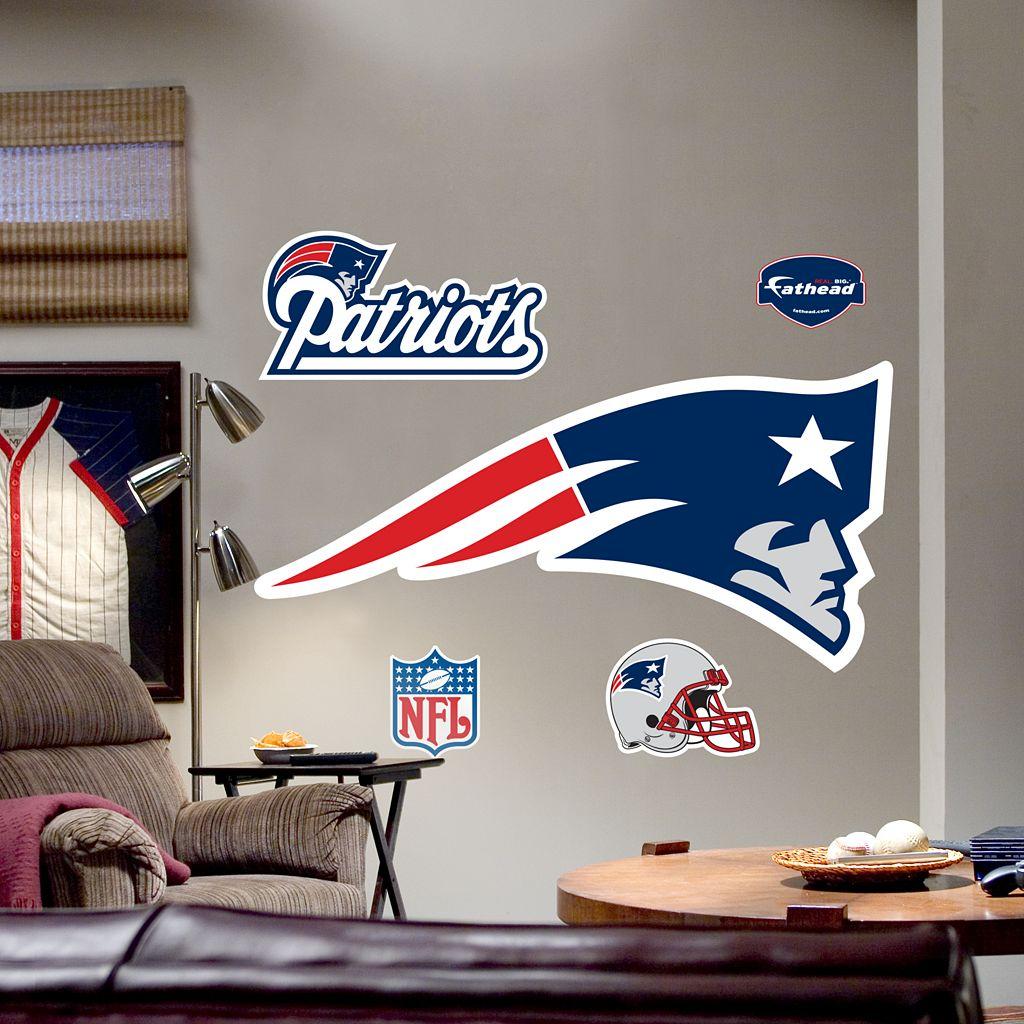 Fathead®New England Patriots Logo Wall Decal