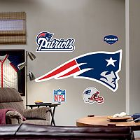 Fathead®New England Patriots Logo Wall Decal