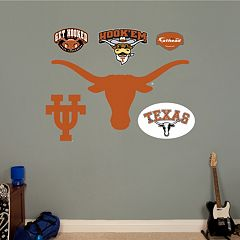 Fathead® Texas LonghornsLogo Wall Decal