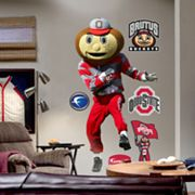Fathead Ohio State Brutus Buckeye Wall Decal