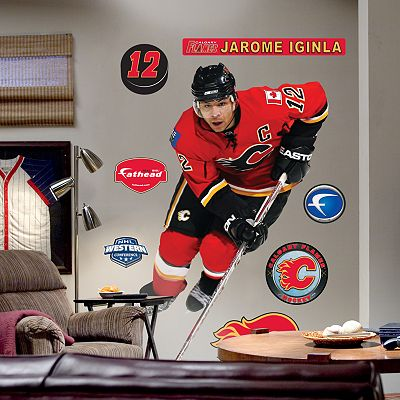 Fathead Calgary Flames Jarome Iginla Wall Decal