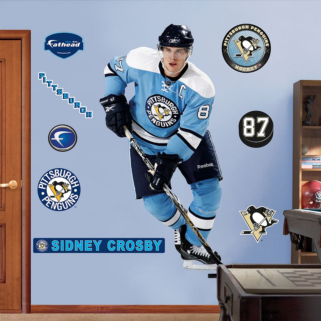 Fathead®Pittsburgh Penguins Sidney Crosby Retro Wall Decal