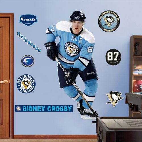 Fathead Pittsburgh Penguins Sidney Crosby Retro Wall Decal