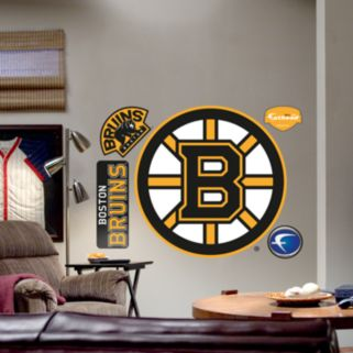 Fathead Boston Bruins Logo Wall Decal