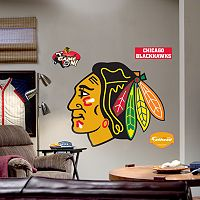Fathead®Chicago BlackhawksLogo Wall Decal