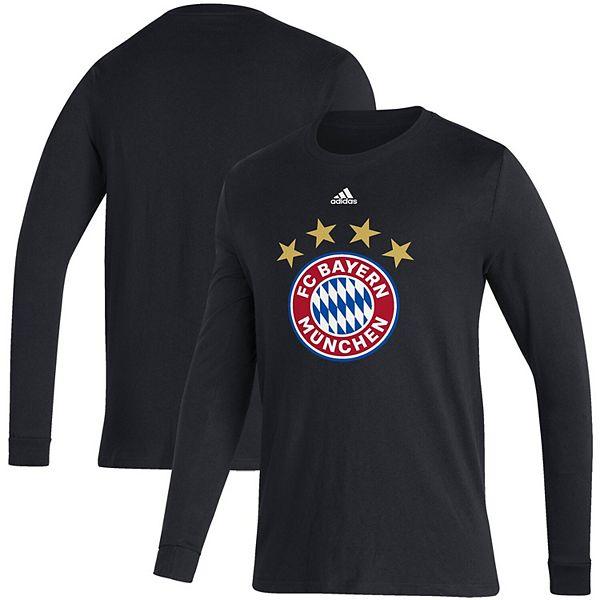 Men's adidas Black Bayern Munich Primary Logo Amplifier Long ...