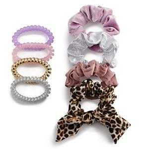 Girls Elli by Capelli 9-pack Hair Tie Set