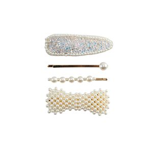 Girls Elli by Capelli 4-pack Pearl Hair Accessories