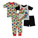 Toddler Boy PJ Masks Team Work 4-Piece Pajama Set