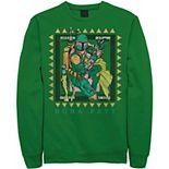 Men's Star Wars Boba Fett Stamp Sweatshirt