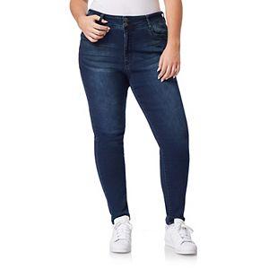 Juniors' Plus Size WallFlower Insta Soft Ultra Skinny Jeans