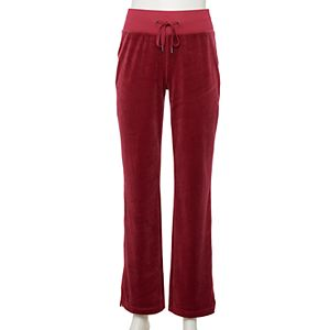 Women's Tek Gear® Velour Bootcut Pants