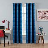 The Big One® Kids Plaid 2-pack Window Curtain Set