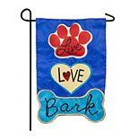 Live, Love, Bark Garden Flag
