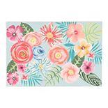 Liora Manne Illusions Flower Garden Indoor Outdoor Mat