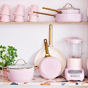 GreenPan Padova Reserve Blush Healthy Ceramic 10-pc. Nonstick Cookware Set