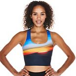 Soulgani Lux Low-Impact Crop Sports Bra