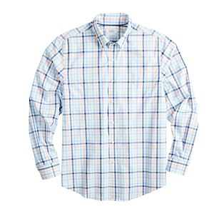 Men's Croft & Barrow® Patterned Easy-Care Woven Button-Down Shirt