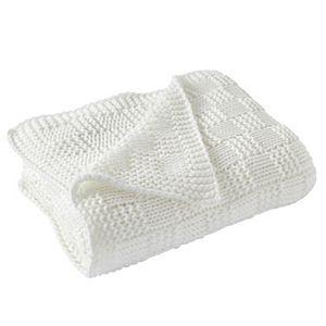 Modern Threads Acrylic Knit Throw