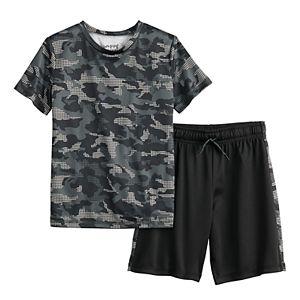 Boys 4-8 Jumping Beans® Active Tee & Shorts Set