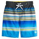 Boys 4-7 ZeroXposur Striped Swim Short