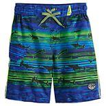 Boys 4-7 ZeroXposur Shark Swim Short