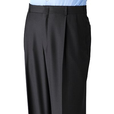 Dockers Striped Pleated Suit Pants