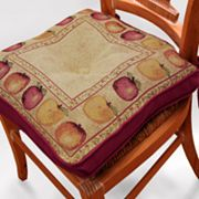 Park B. Smith Apple Tapestry Chair Pad