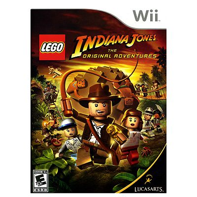 Nintendo Wii LEGO Indiana Jones: The Original Adventures