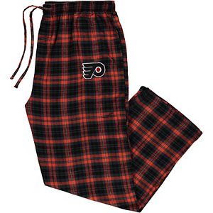 Men's Concepts Sport Black Philadelphia Flyers Big & Tall Parkway Flannel Pants