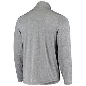 Men's Gray Dallas Cowboys Bolder Quarter-Zip Jacket