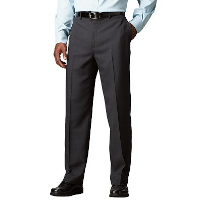 Croft and Barrow Flat-Front Fancy Microfiber Dress Pants