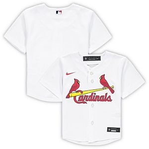 Toddler Nike White St. Louis Cardinals Official Team Jersey