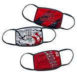 Youth St. Louis Cardinals Face Covering 3-Pack