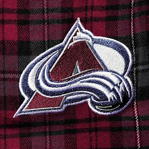 Men's Concepts Sport Burgundy Colorado Avalanche Big & Tall Parkway Flannel Pants
