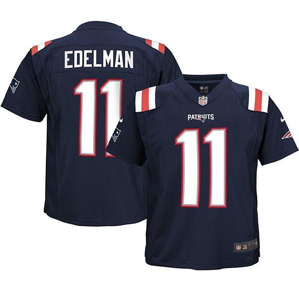 Infant Nike Julian Edelman Navy New England Patriots Game Jersey