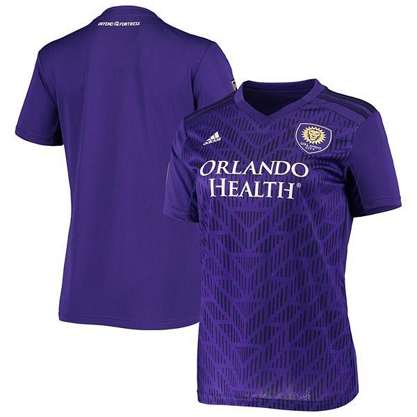 Women's adidas Purple Orlando City SC 2020 Replica Primary Jersey