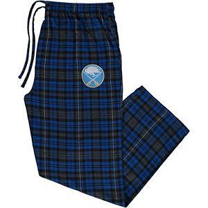 Men's Concepts Sport Royal Buffalo Sabres Big & Tall Parkway Flannel Pants