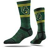 Youth Strideline Green Oregon Ducks Primary Logo Crew Socks