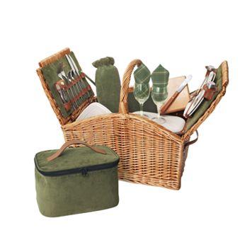 Picnic Time® Somerset Picnic Basket
