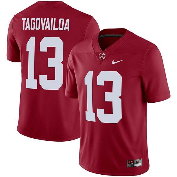 Men's Nike Tua Tagovailoa Crimson Alabama Crimson Tide Alumni Player Jersey
