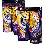Men's Ethika Purple LSU Tigers Wordmark Boxer Briefs