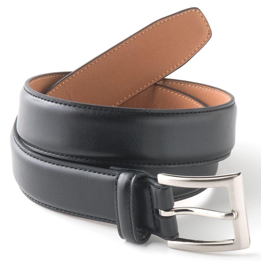 Men's Croft & Barrow® Soft Touch Faux-Leather Belt