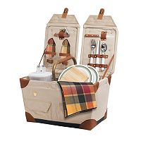 Picnic Time® Pioneer Picnic Basket