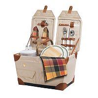 Picnic Time® Pioneer Picnic Basket