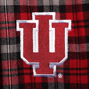 Men's Concepts Sport Cardinal/Gray Indiana Hoosiers Big & Tall Parkway Flannel Pants