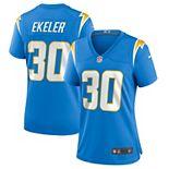 Women's Nike Austin Ekeler Powder Blue Los Angeles Chargers Game Jersey