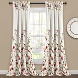 Lush Decor Neela Birds Room Darkening Window Curtain
