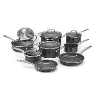 14-Piece Cuisinart GreenChef Pro Ceramica XT Nonstick Cookware Set + $40.00 Kohls Cash