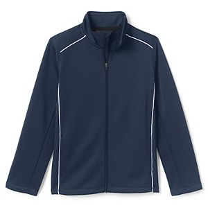 Kids 4-7 Lands' End School Uniform Active Track Jacket